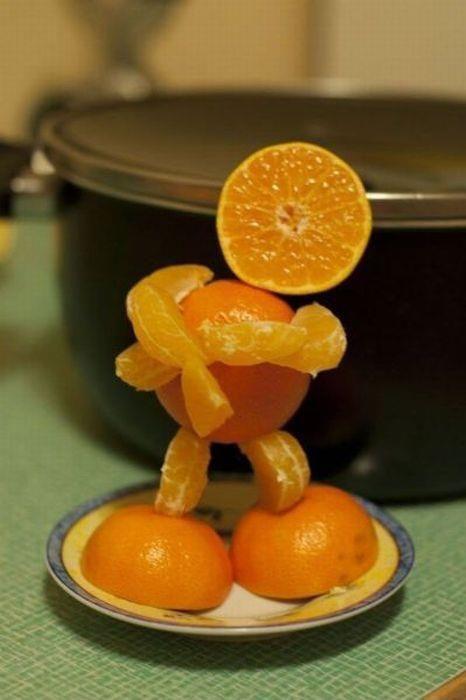 Dancing Orange!