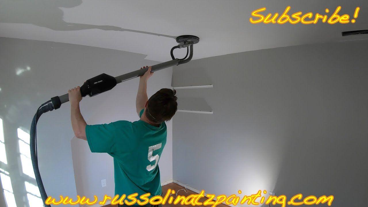 Popcorn Ceiling Removal Skim Coating Part 8 Removing
