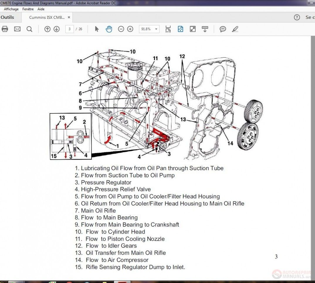 Isx Cummins Engine Diagram Not Working Di