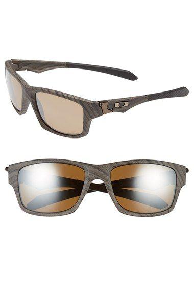 5ed6c4bde45 Men s Oakley  Jupiter Squared  58mm Polarized Sunglasses - Woodgrain  Tungsten  Iridium