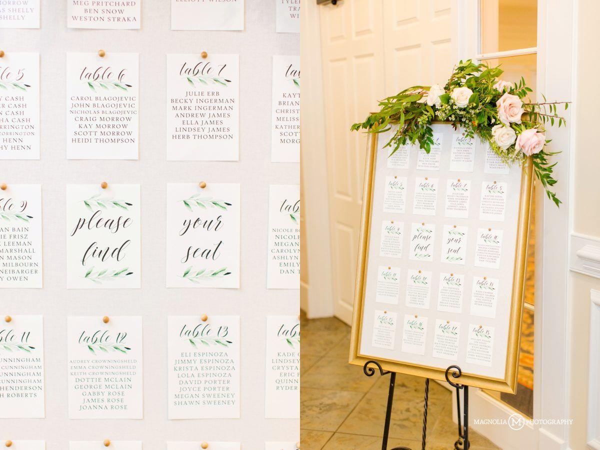 Seating Chart Rose Hill Plantation Charts Wedding Venues Day