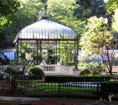 Argentinian Art Deco greenhouse, prize-winner at Paris 1889, now at ...