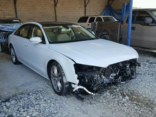 Salvage Audi A L Quattro Sedan For Sale Salvage Title - Audi car auctions