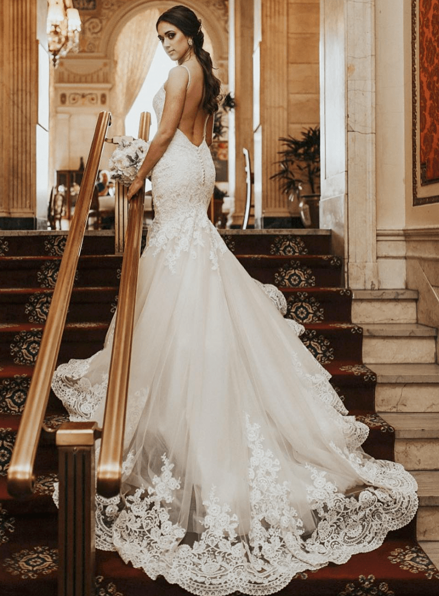 Fairytale wedding dresses that will help you have a dream wedding