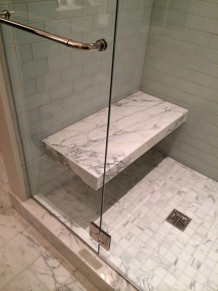 Floating Seat At End Of Master Shower Shower Bench Shower Seat Bathroom Remodel Shower