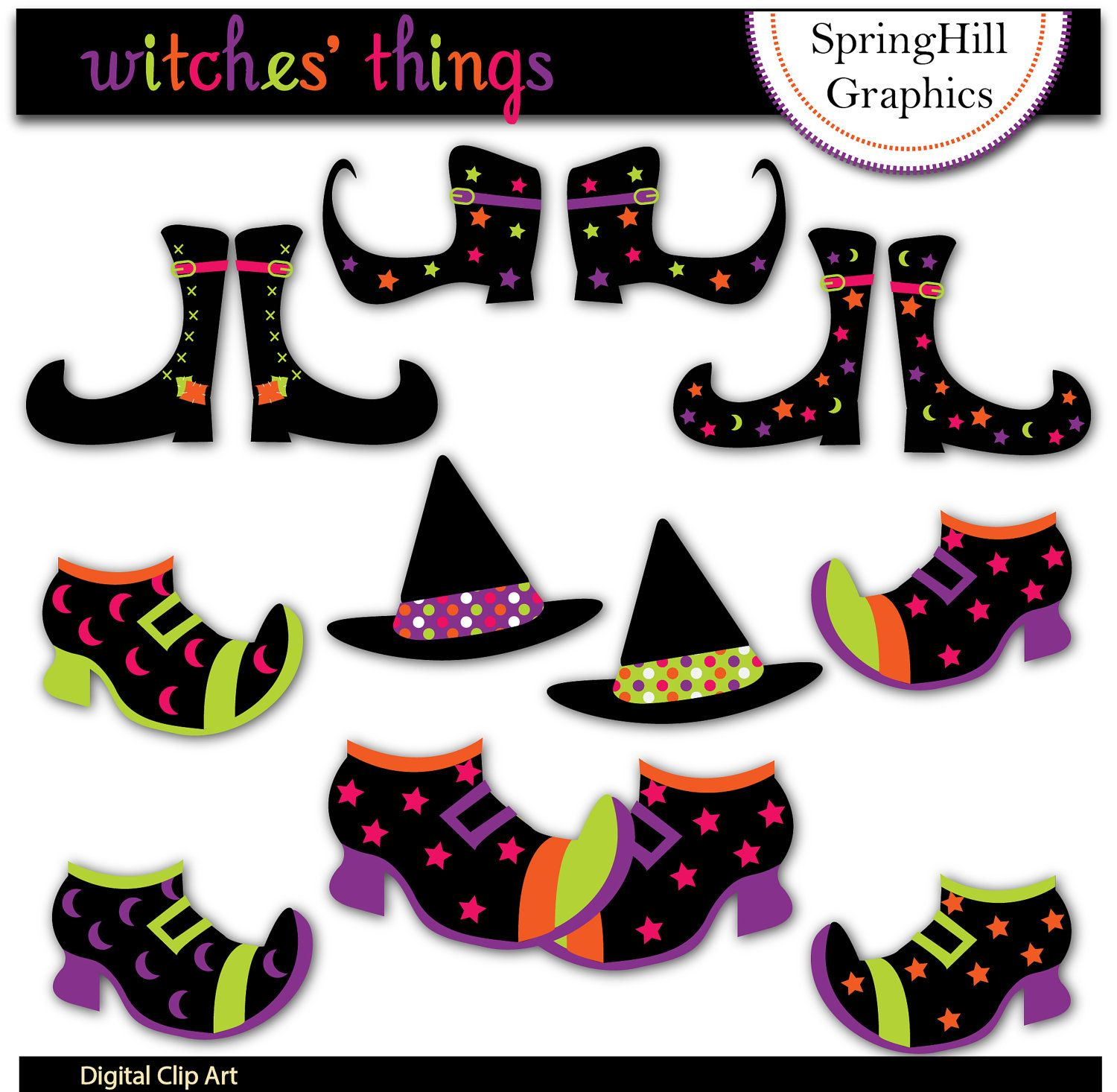 dracula clip art | Holloween Witch Clip Art