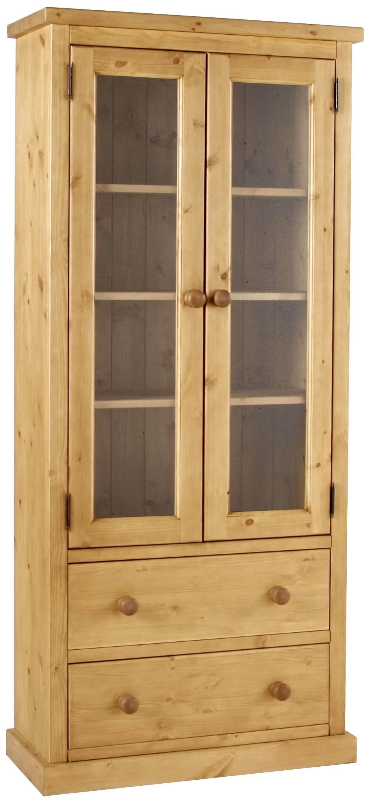 Viking GLASS CABINET Antique Wax | Willoby\'s sideboards | Pinterest ...
