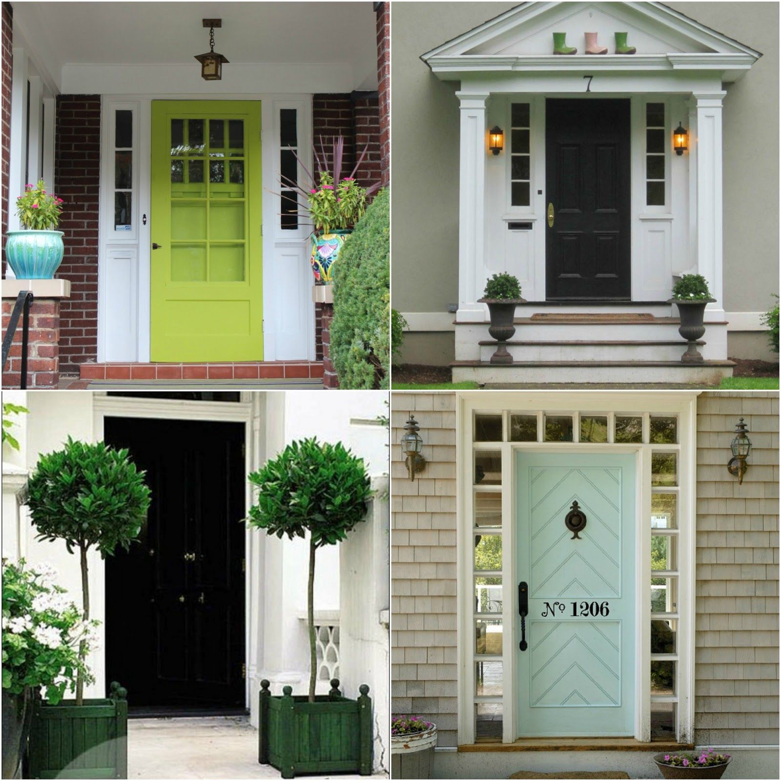 Doors front door ideas for brick homes front door ideas for Front window ideas