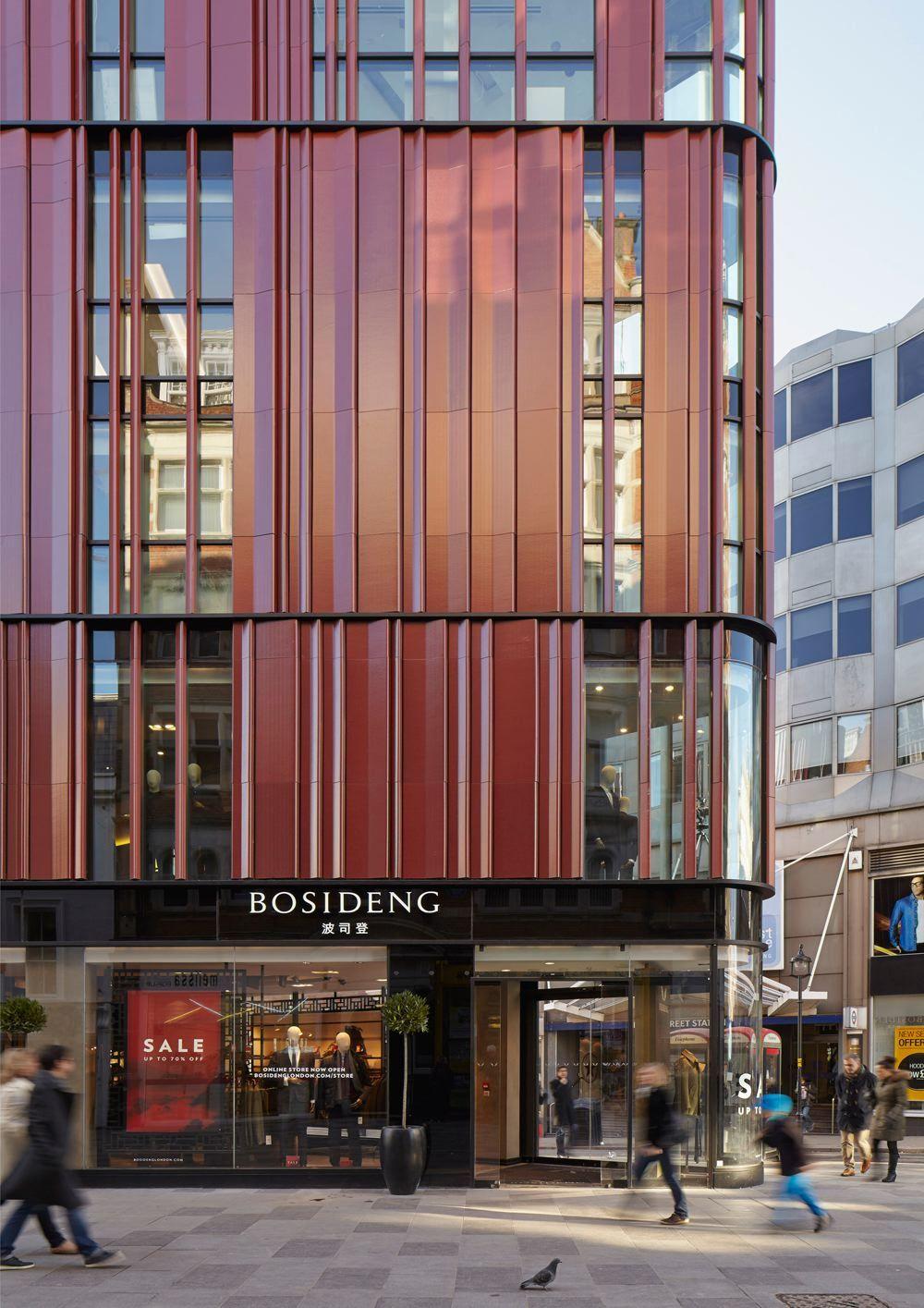 Het gebouw aan de south molton street londen gb de architect