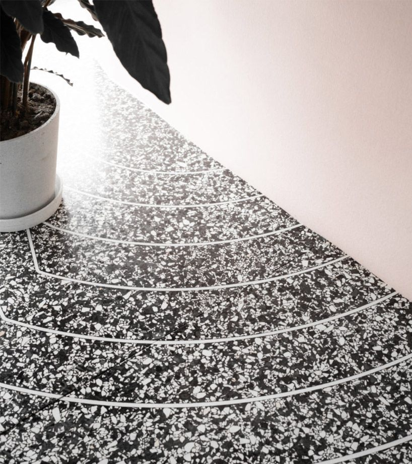 The 3d Printed Terrazzo Floors By Aectual Are Created With