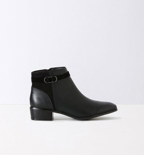 Femme Boots PromodShopping Chez Cavalières Noir kPOXuTZi