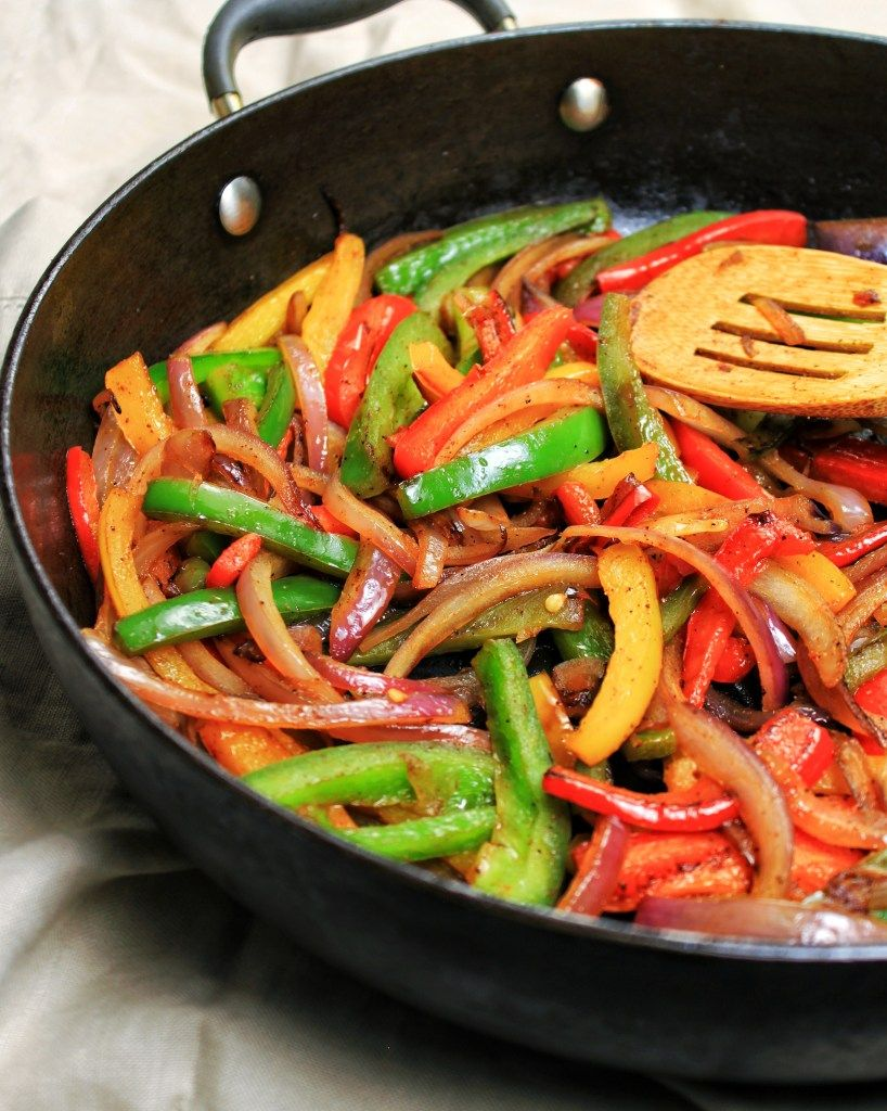 Sauteed Bell Peppers & Onions #bellpeppers