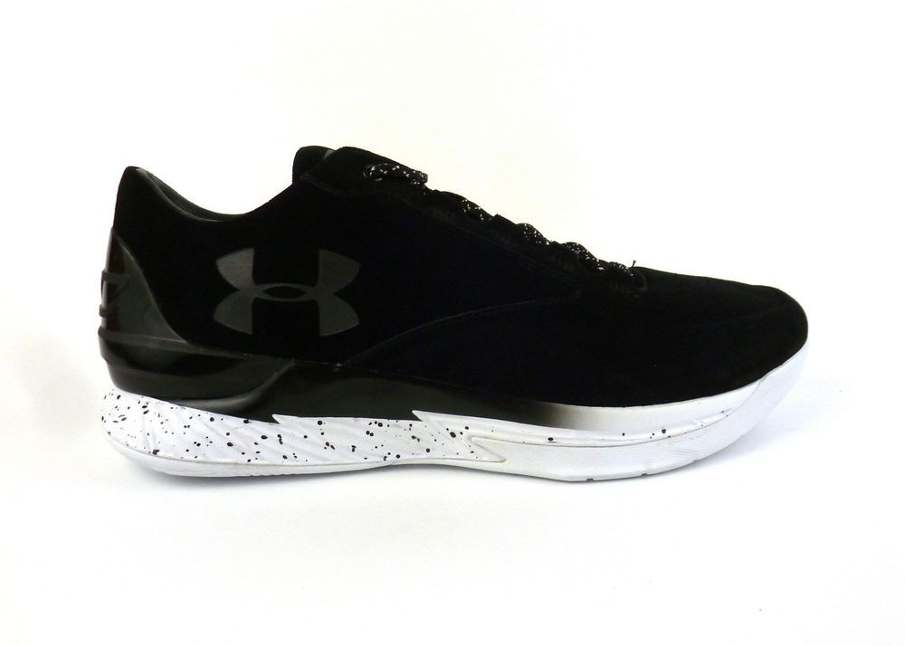 sneakers for cheap f5033 4b258 Under Armour men s Curry 1 Lux Mide Suede basketball shoes sneakers Black  White