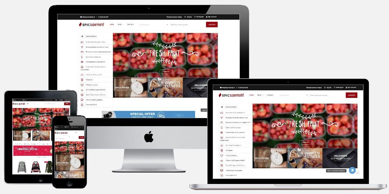 Supermarkt laten maken Professionele App iDEAL