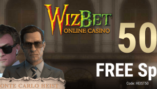 Lucky Creek 50 Free Spins On Monte Carlo Heist Exclusive Deal