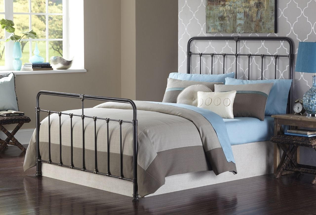 Leggett Platt Fairfield Iron Farmhouse Bed Bed Styling Iron Bed Bed