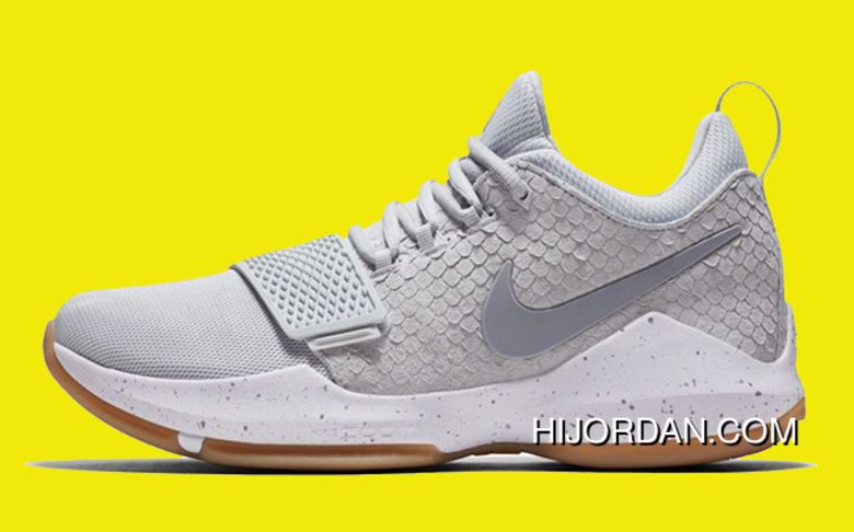 Nike PG 1 Pure Platinum Wolf Grey-University Gold New Style in 2018 ... d94373b5b