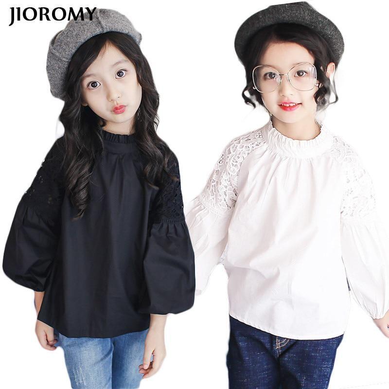 ee140f46a14a JIOROMY Girls Long Sleeves Autumn T-shirt 2018 New Children s ...