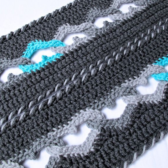 Crochet Pattern Sweetheart Scarf A Crochet Heart Scarf Pattern