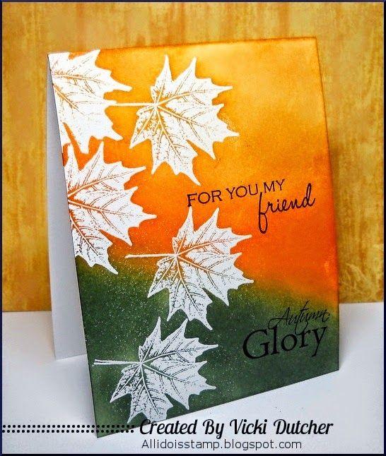Vicki Dutcher: All I Do Is Stamp-- Designs by Vicki Dutcher: A Free Friday - 10/17/14