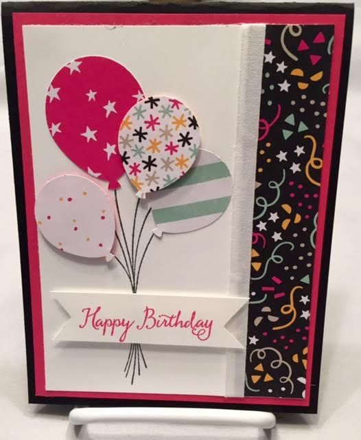 Balloon Celebration by Stampin Up