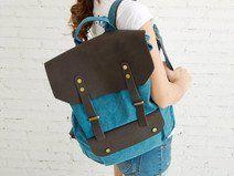 Ledertragetaschen, Retro-Rucksäcke