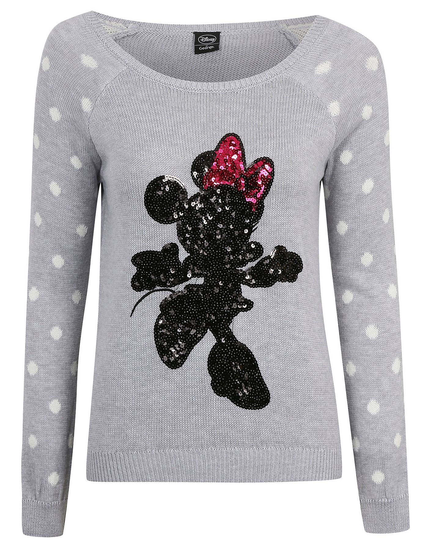 f32d4a590704 Sequin Minnie Mouse Jumper