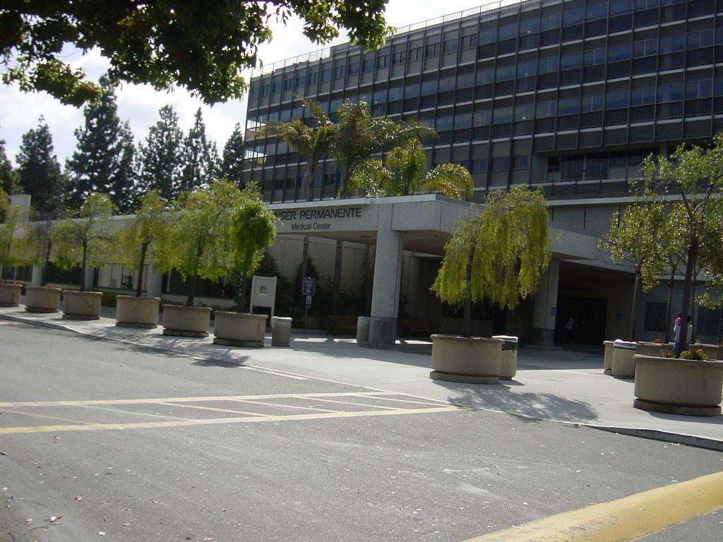 Where My Sister And I Were Born Kaiser On Kiely In Santa Clara Now Demolished Santa Clara Kaiser Permanente Medical Center