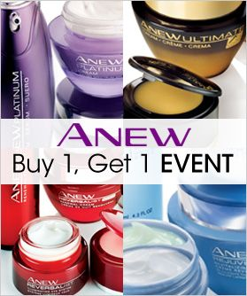 Anew Bogo Avon Skin Care Cosmetic Skin Care Shop Avon