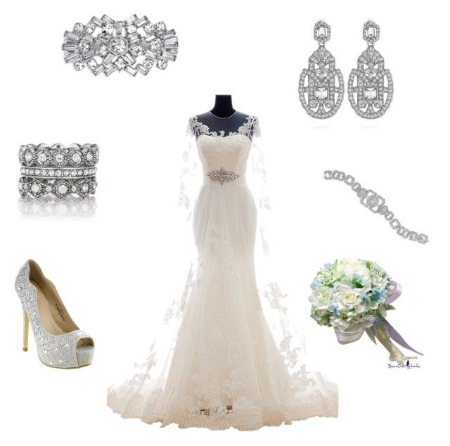Wedding Day with Chloe + Isabel by lilmo2005 on Polyvore featuring Chloe + Isabel stephanieturney.chloeandisabel.com