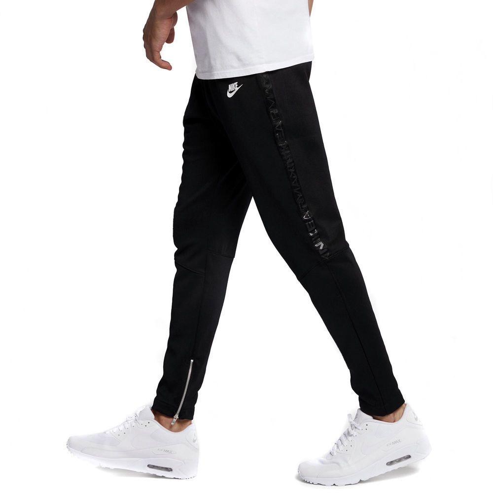 director sitio Espesar  MENS NIKE SPORTSWEAR AIR MAX PK ZIPPER JOGGER LIFESTYLE PANTS 861606-010 XL  $90 | Joggers with zippers, Mens sportswear, Sportswear