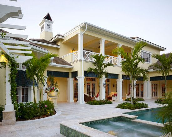 British Colonial Style Design Ideas Pictures Remodel And Decor Colonial Exterior British Colonial Style Colonial Style