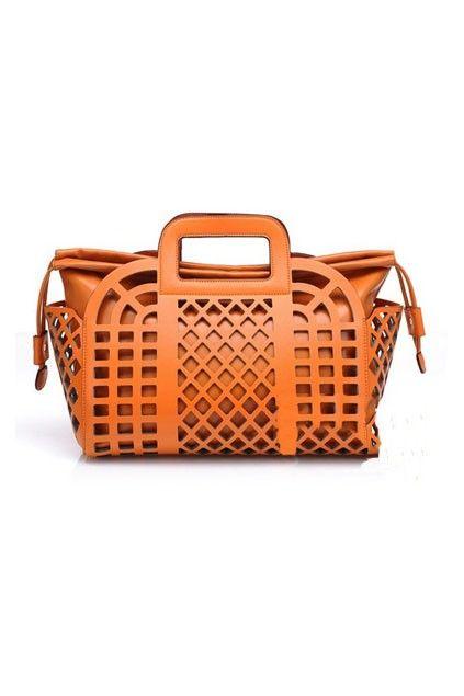 Distinctive Cut out Detail with Drawstring Handbag - OASAP.com