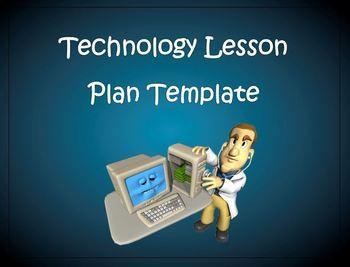 Lesson Plan Template  Technology Editable  Lesson Plan