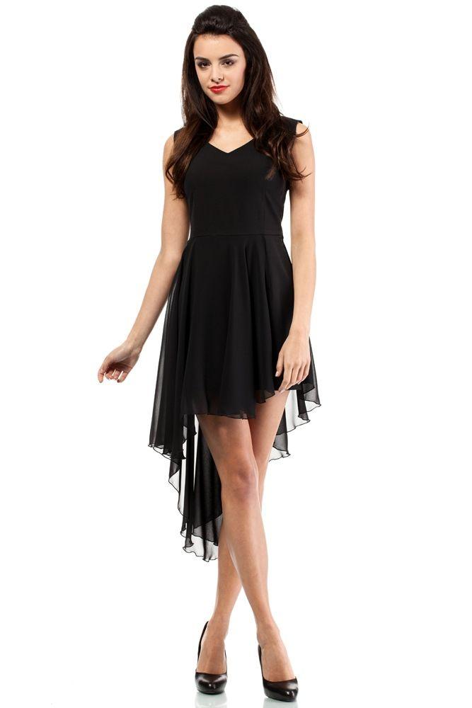 b77ebc34 Dziewczęca i zwiewna sukienka | gowns w 2019 | Black evening dresses ...
