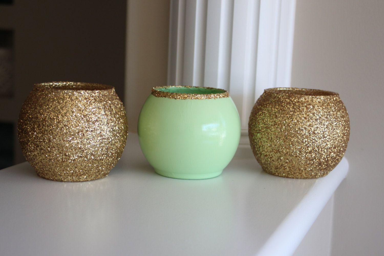Mint green vase gold and mint green vase wedding centerpiece mint green vase gold and mint green vase wedding centerpiece party centerpiece mint green centerpiece gold centerpiece green vase reviewsmspy