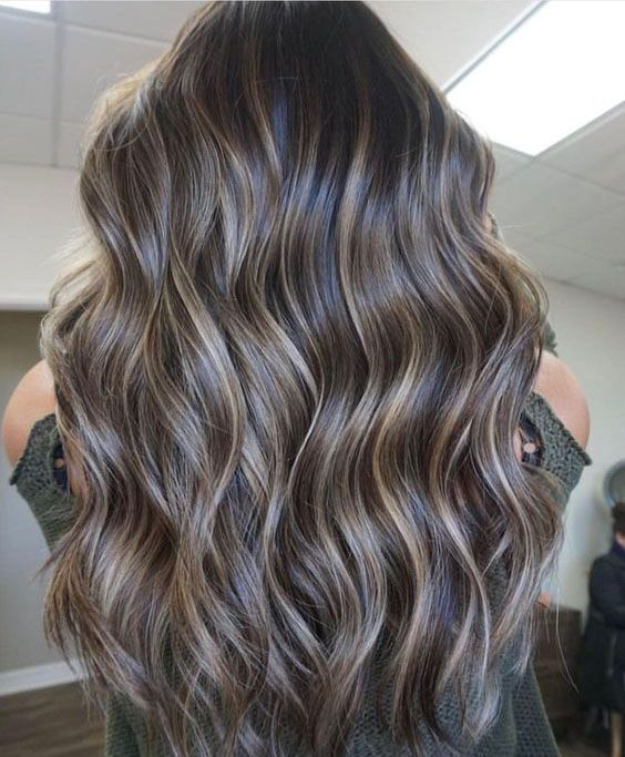 Black Hairstyles With Highlights is part of Short Hairstyles For Black Women With Trending Images - Long wavy hair should look natural 2019