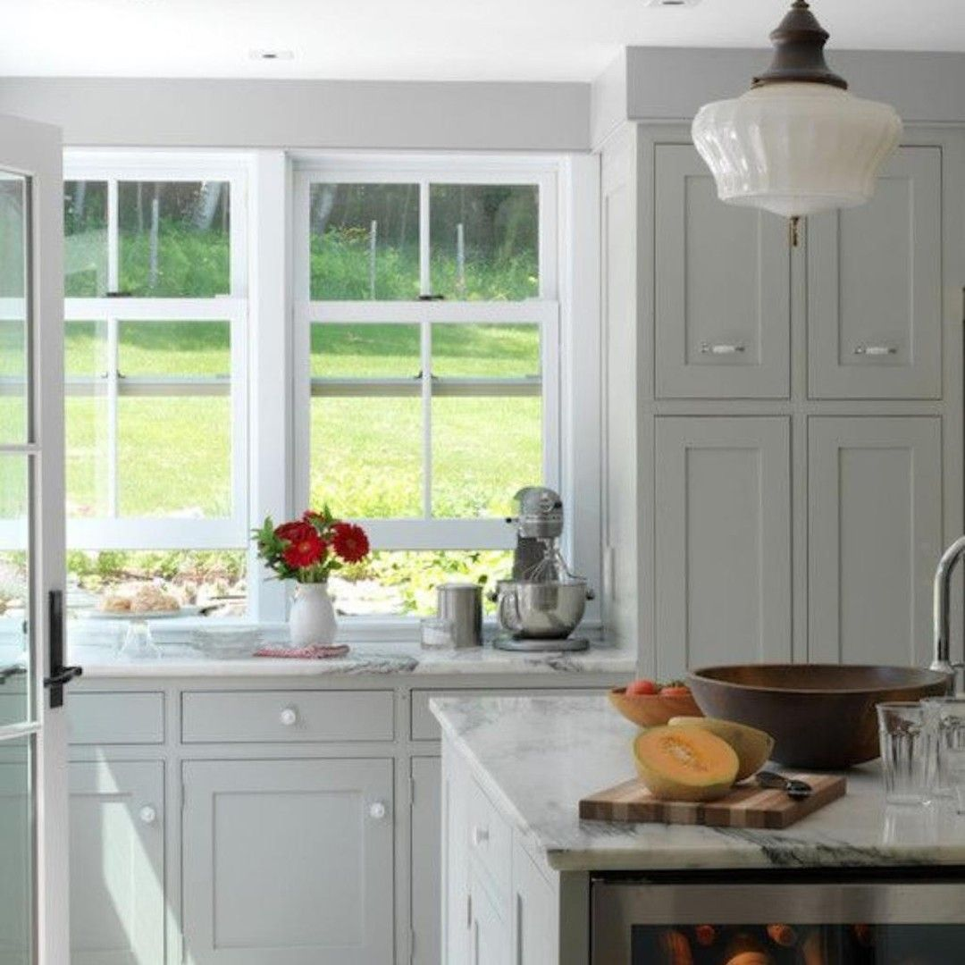 Gray Cabinets Are Such A Versatile Classic That Will Work Beautifully In Any Kitchen T In 2020 Grey Kitchen Designs Light Grey Kitchen Cabinets Grey Kitchen Cabinets