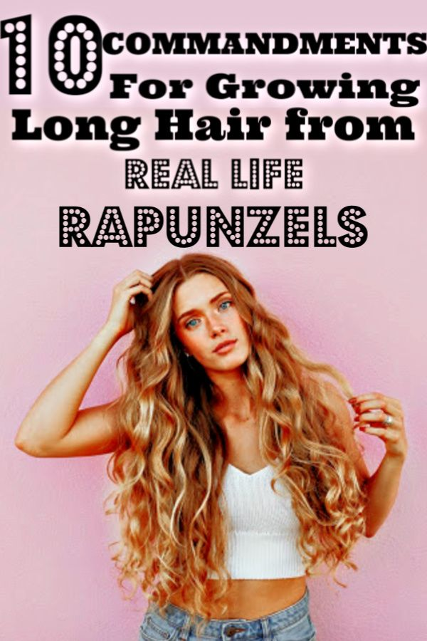 Secrets on How To Grow Hair Fast From Real Life Rapunzels Hair tips that work Hair Beauty Long Hair