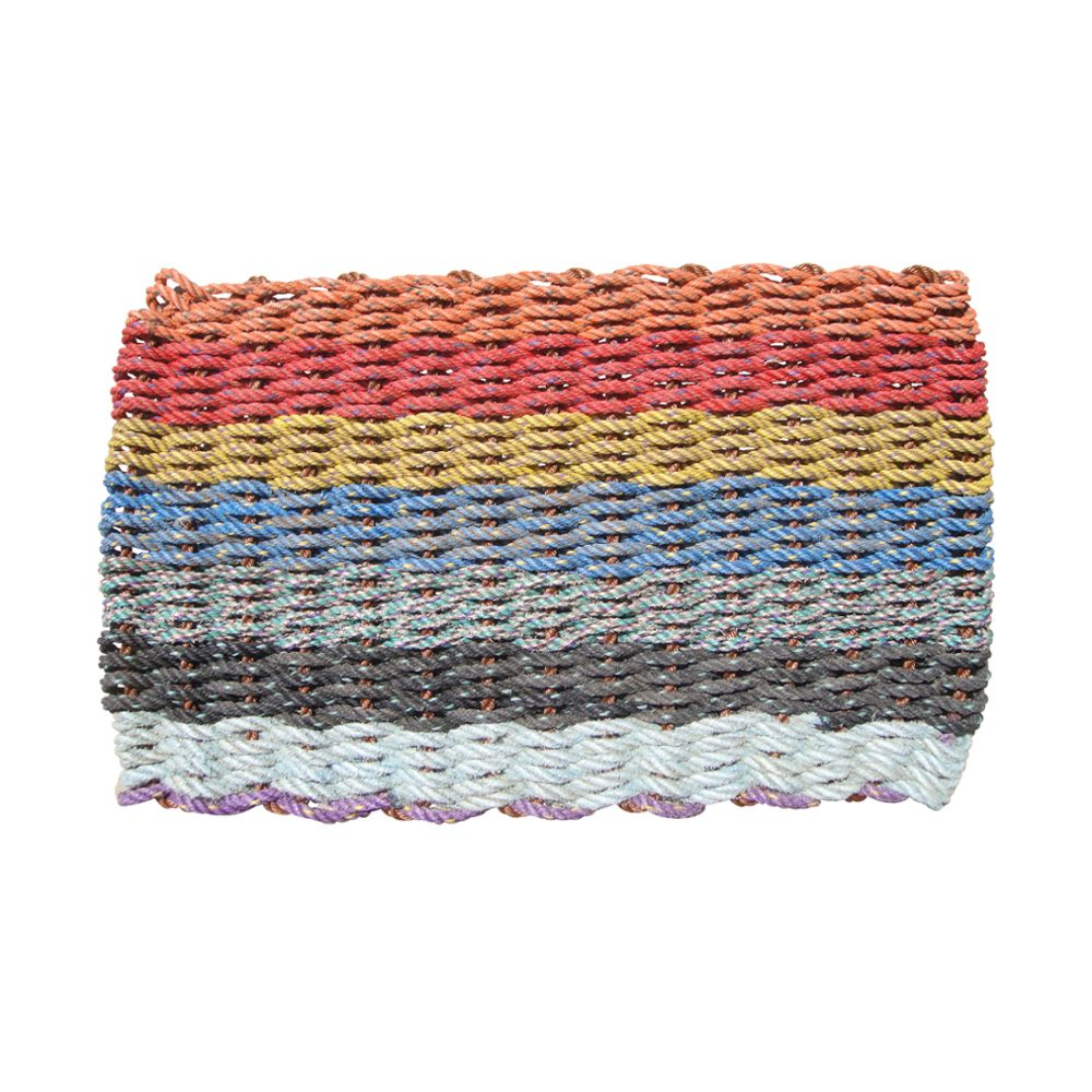 Colors of maine recycled lobster rope doormat 21x33