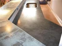 Concrete Countertops Glass Aggregate Concrete Countertops
