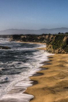 Cowell Ranch Beach, Bathe in the Mother Pacific in California.