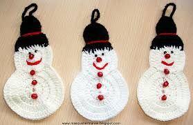 Amigurumis Navidad Paso A Paso : Adornos de crochet paso a paso de toallas buscar con google