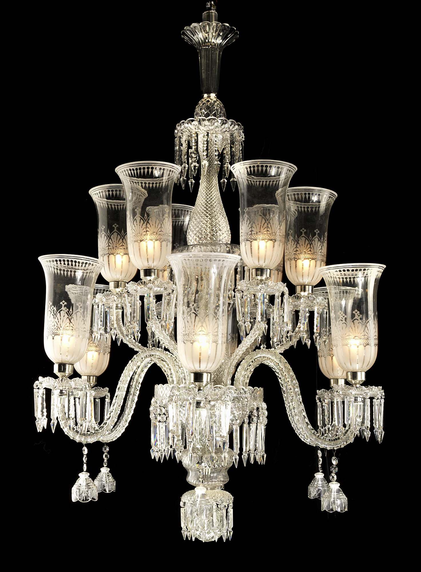 Antique Osler Crystal Chandelier Crystal Chandelier Mirror
