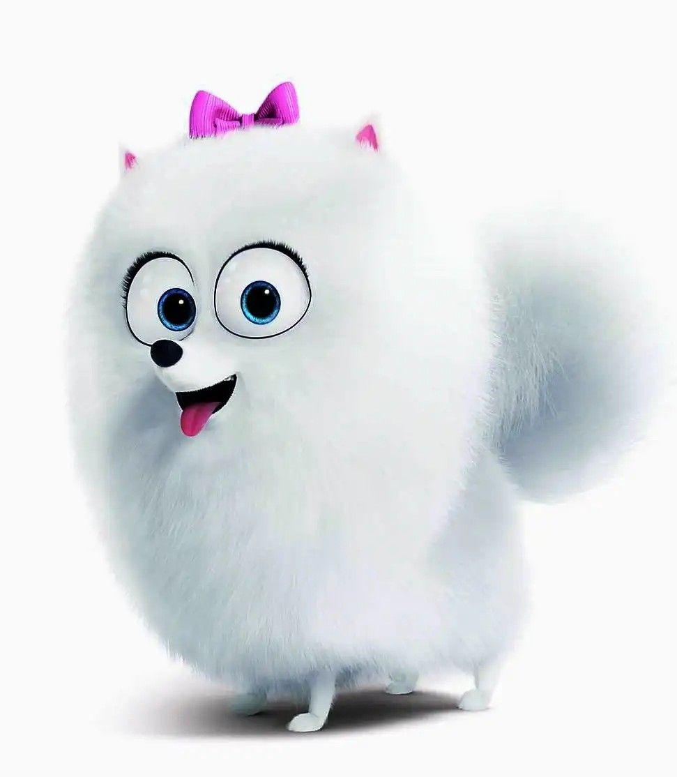 Gidget La Vida Secreta De Tus Mascotas Una Pomeranian Inocente Pero Valiente Que Es 5 La Vida Secreta De Tus Mascotas Fotos De Animales Bebé La Vida Secreta