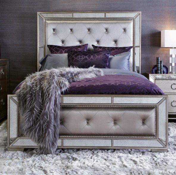 fabulous purple bedroom design ideas | Lush Fab Glam Blogazine: Modern Home Decor Trends: Shades ...