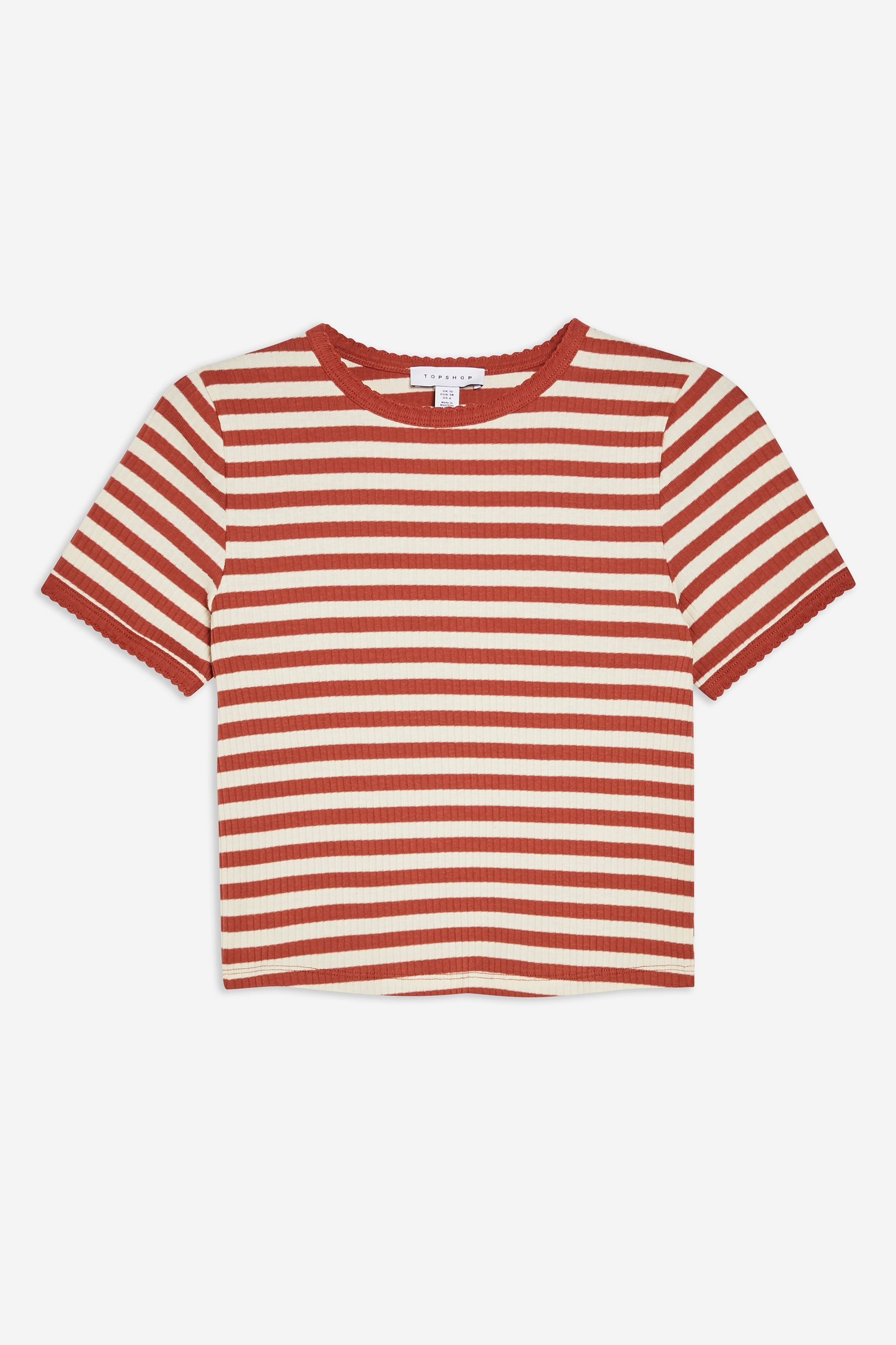 209d696d8 Carousel Image 1 Minimal Wardrobe, Shirt Outfit, T Shirt, Stripes, Topshop,