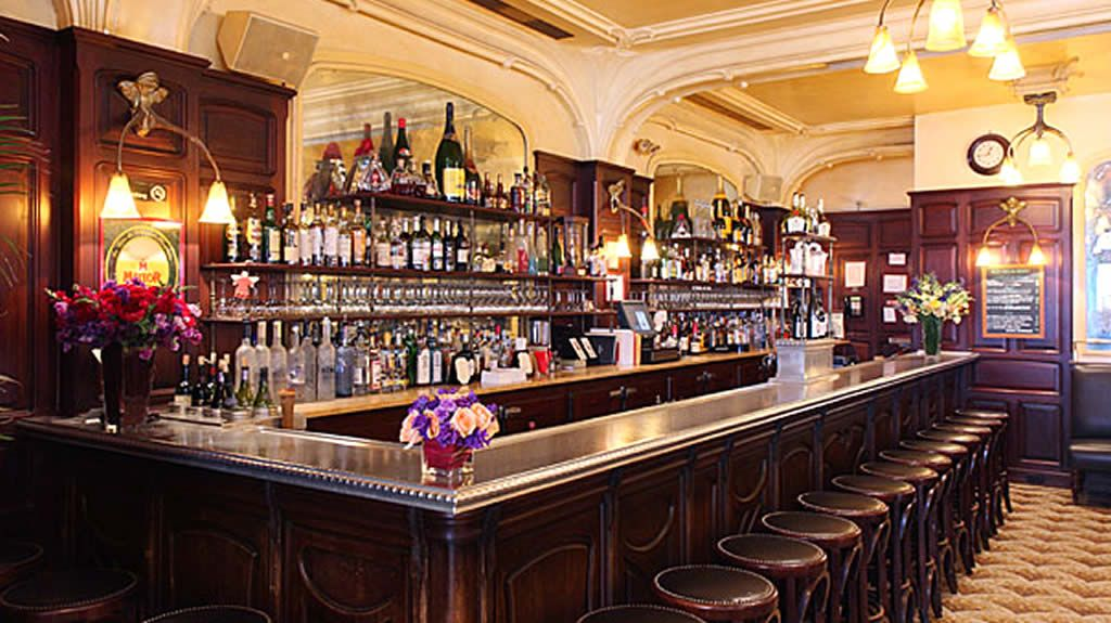 restaurant bar seating furniture design of orsay brasserie ny
