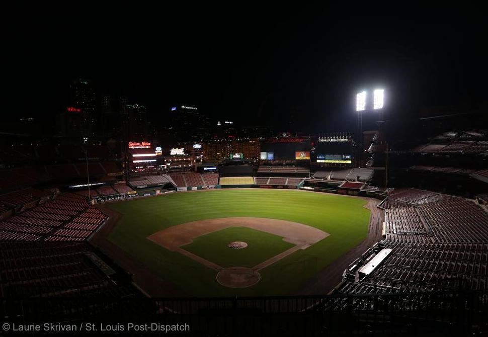 Mlb Teams And Players Pay Tribute To Oscar Taveras Busch Stadium Field Stl Baseball