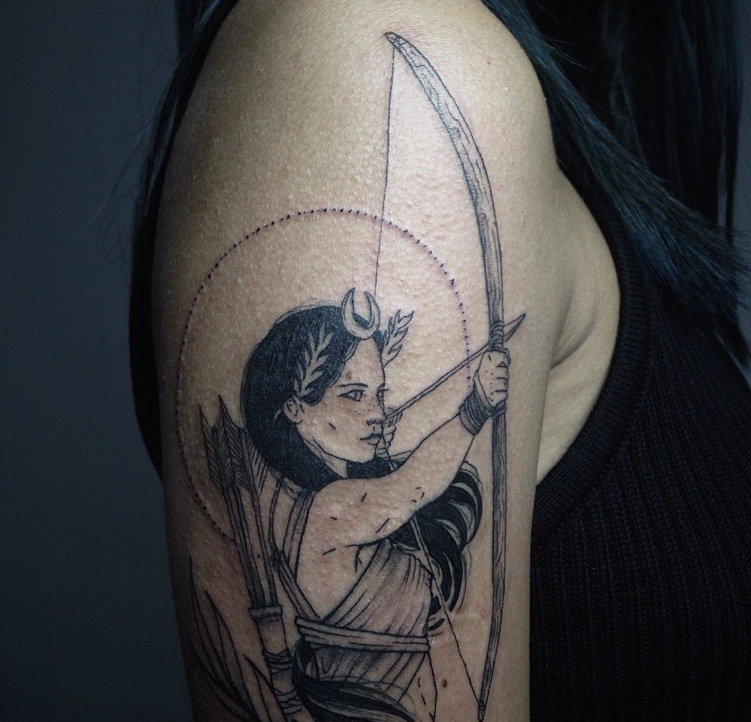 Pin by Lydia Aimonè on Artemis tattoo inspiration